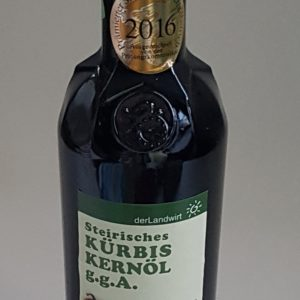 Kürbiskernöl g.g.A. 0,5 Liter