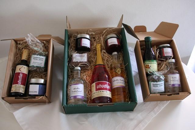 Uhudlerwein, Kürbiskernöl, Edelbräne